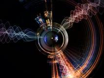 Влияние объектива цифров Стоковые Изображения RF