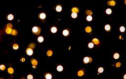 Влияние Bokeh красочных светов Стоковые Фотографии RF