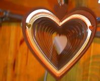Влияние moving сердца Стоковые Изображения