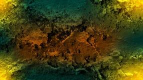 Влияния цвета Брауна желтые затеняли обои предпосылки текстуры стены Яркая иллюстрация вектора иллюстрация вектора
