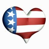 влюбленность америки Стоковые Фото