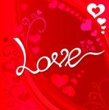 Влюбленность Валентайн Стоковые Изображения RF