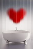 влюбленность ванны Стоковые Фото