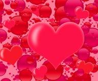 влюбленность взрыва Стоковая Фотография RF