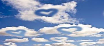 влюбленность воздуха Стоковые Изображения RF