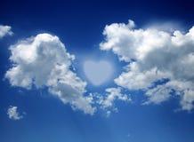 влюбленность воздуха Стоковое Изображение