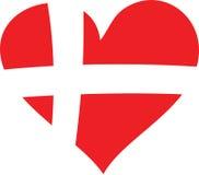 влюбленность Дании иллюстрация вектора