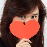 влюбленность девушки Стоковые Изображения