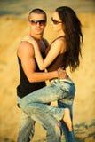 влюбленность джинсыов Стоковые Изображения RF