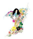 влюбленность заполненная цветами бесплатная иллюстрация