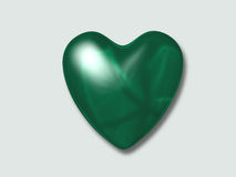 влюбленность зеленого цвета i иллюстрация вектора