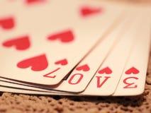влюбленность игры Стоковые Фотографии RF