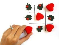 влюбленность игры Стоковая Фотография RF