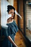 Влюбленность и одиночество Мысли влюбленности Стоковые Изображения RF