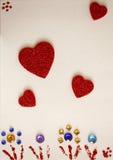 влюбленность карточки Стоковое Изображение RF