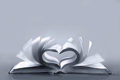 влюбленность книги старая Стоковые Фотографии RF