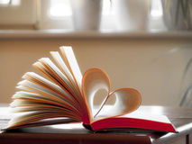 влюбленность книги Стоковое Изображение RF