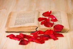 влюбленность книг i Стоковая Фотография RF