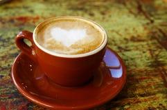 влюбленность кофе Стоковые Фото