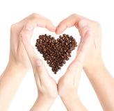 влюбленность кофе Стоковое Изображение