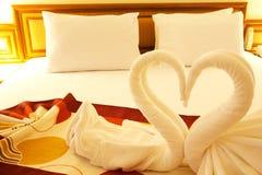 влюбленность кровати Стоковое Изображение RF
