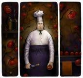 влюбленность к томатам Иллюстрация штока