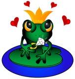 влюбленность лягушки иллюстрация штока