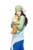 влюбленность медведя i мой игрушечный Стоковая Фотография RF