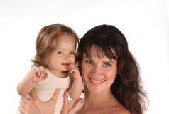 влюбленность младенца i моя Стоковое Изображение