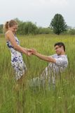 влюбленность объявления Стоковое фото RF
