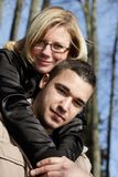 влюбленность пар Стоковое Фото