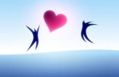 влюбленность пар Стоковое Изображение