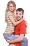 влюбленность пар Стоковые Фотографии RF