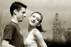 влюбленность пар стоковая фотография