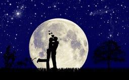 влюбленность падения Стоковая Фотография RF