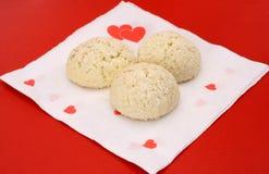 влюбленность печений Стоковое фото RF
