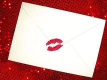 влюбленность письма Стоковое Изображение RF