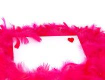 влюбленность письма стоковое фото rf