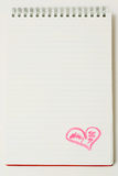 влюбленность письма Стоковая Фотография RF
