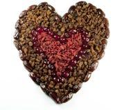 влюбленность плодоовощ Стоковая Фотография RF
