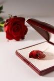 влюбленность подарка стоковые изображения rf