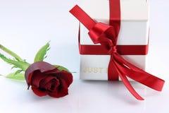влюбленность подарка Стоковое Изображение