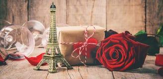 Влюбленность предпосылки и романтичное Стоковые Изображения