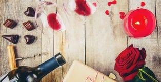Влюбленность предпосылки и романтичное Стоковое Фото