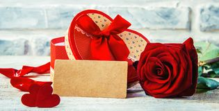 Влюбленность предпосылки и романтичное Стоковые Фото