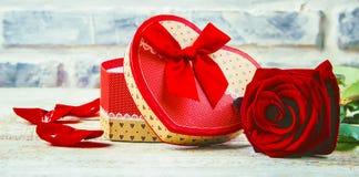 Влюбленность предпосылки и романтичное Стоковая Фотография RF