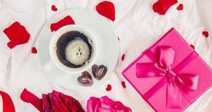 Влюбленность предпосылки и романтичное Стоковое Изображение RF