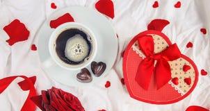 Влюбленность предпосылки и романтичное Стоковое фото RF