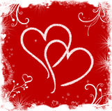 влюбленность предпосылки Стоковое Изображение RF