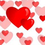 влюбленность предпосылки Стоковое Изображение
